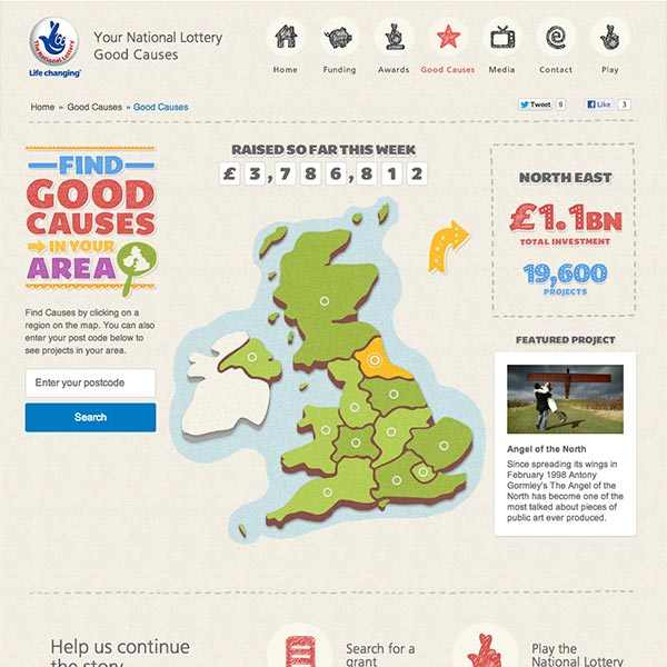 Your National Lottery Good Causes